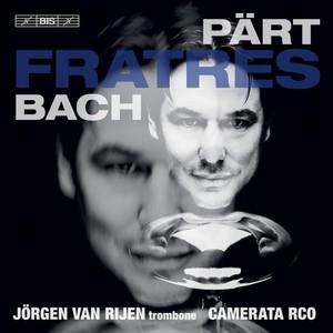 ヨルゲン・ファン・ライエン / Fratres - Pärt & Bach【CD】