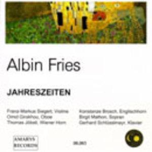 アルビン・フリース「四季」【CD】