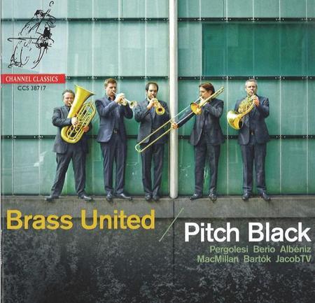 ブラス・ユナイテッド [CD] Pitch Black