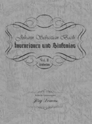 J.S.バッハ インベンションとシンフォニア【Vol.2シンフォニア】