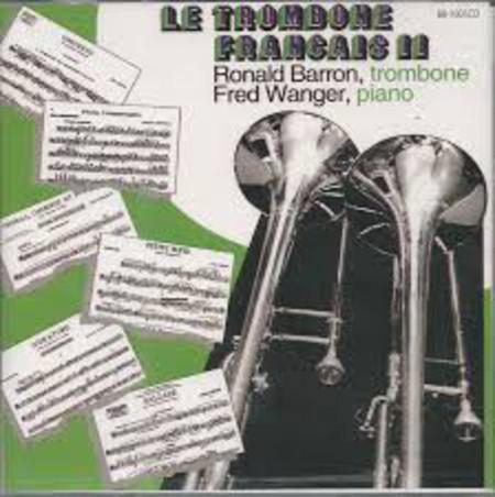 Ronald Barron / Le Trombone Francais ll 【CD】