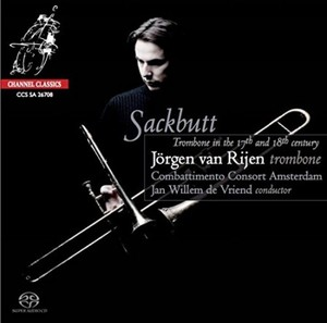 Jörgen van Rijen / Sackbutt【CD】