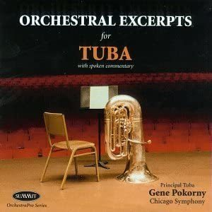 G.Pokorny:Orchestral Excerpts for Tuba【CD】