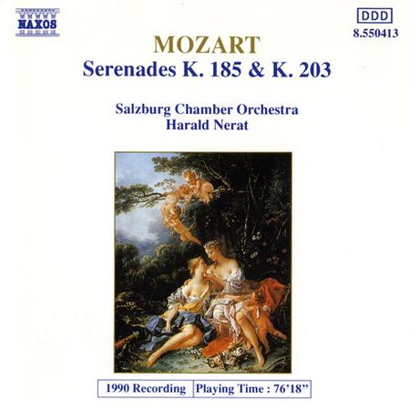 ザルツブルク室内管:モーツァルト:セレナード K. 185, K. 203