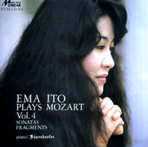 伊藤栄麻/EMA ITO PLAYS MOZART Vol.4